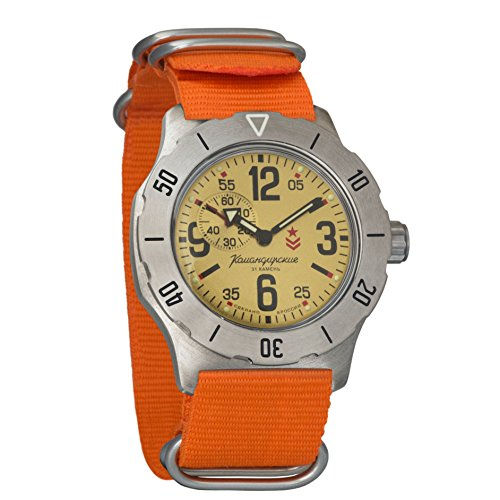 Vostok Komandirskie K-35 - Reloj de pulsera mecánico automático para hombre (# 350749)
