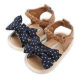 Sandalias de Verano para bebé niñas Suave Antideslizantes de Verano Sandalias de Playa Zapatos para Primeros Caminantes