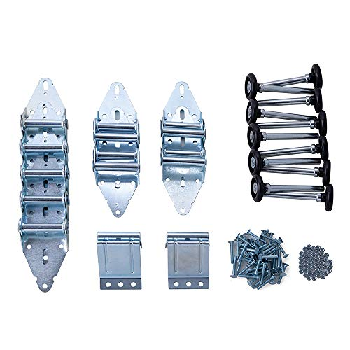 Home Master Hardware Garage Door Hinge & Roller Tune Up Kit for 16 x 7