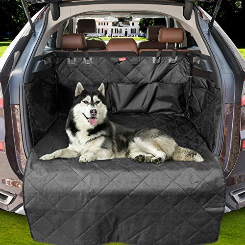 MATCC Funda Maletero Coche Funda para Perros Universal Protector Maletero del Coche Impermeable Antideslizante para Auto SUV Camión Transportar y Viaje