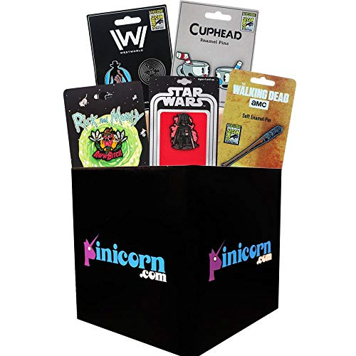 Pinicorn Mystery Box of Pins | Anime Collectibles | 5 Set Pack