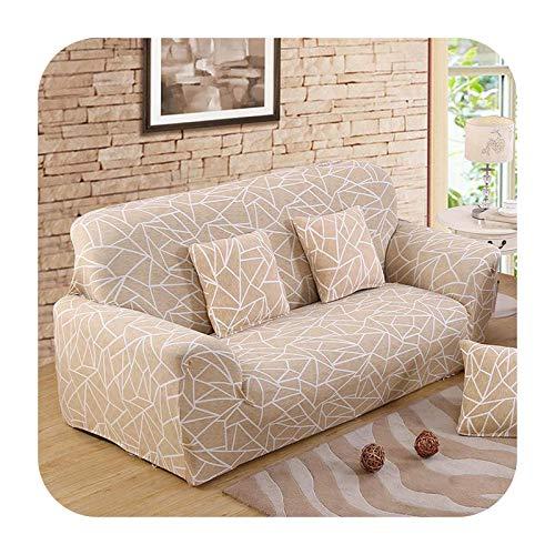 Funda elástica para sofá para sala de estar, antideslizante, elástica, funda de sofá seccional, funda de sillón en forma de L, 1/2/3/4, color de 9-3 asientos, 190-230 cm