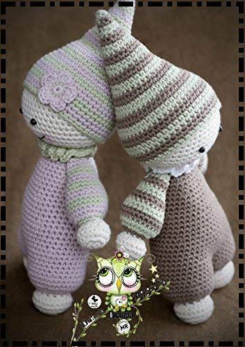 DUENDE AMIGURUMI PERSONALIZABLE ( Bebé, crochet, ganchillo