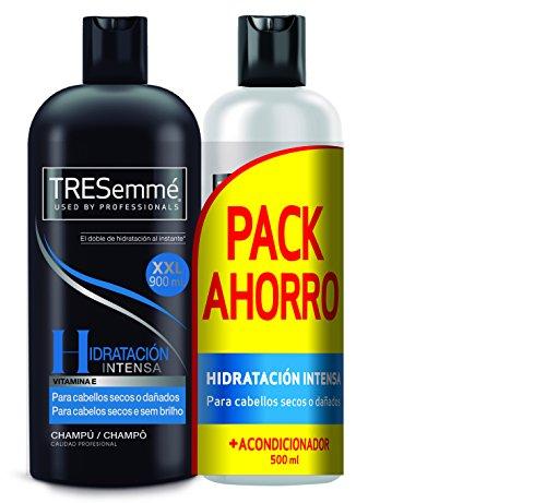TRESemmé Pack con Champú y Acondicionador Hidratación Intensa - 2 Paquetes de 1.4 l - Total: 2.8 l