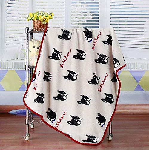 HJX888 Babydecke, super weich und warm, Mittagspause Decke, Größe 100x75cm, sehr geeignet für die Verpackung Baby, Kinderwagen Decke,J