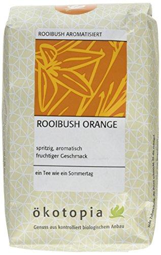 Ökotopia Roibusch Tee aromatisiert Rooibush Orange, 1er Pack (1 x 250 g)
