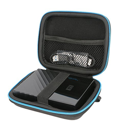 Para WD My Passport 2TB 3TB 4TB /Seagate Expansion Portable 2 TB 3Tb 4Tb disco duro externo portátil E lcaso que lleva el Estuche por Markstore