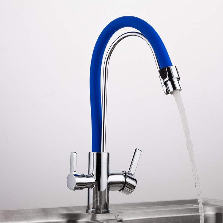Mzdpp 1 Satz Wassermischer Küche Waschbecken Wasserhahn Küchenarmatur Gereinigtes Trinkwasser Wasserhahn Mischer Wasser Filte, A