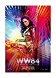 WW84 (Wonder Woman 1984) Movie Poster - Advance One Sheet 24'x36' This is a Certified PosterOffice Print with Holographic Sequential Numbering for Authenticity.