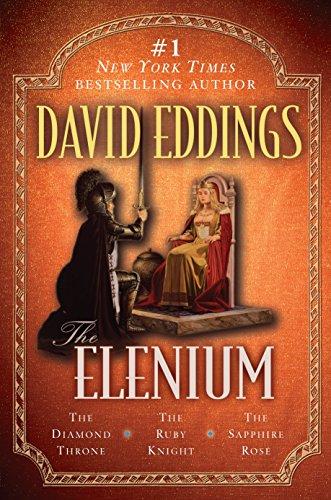 Elenium Triology: The Diamond Throne the Ruby Knight the Sapphire Rose