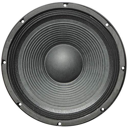 """1 WOOFER MASTER AUDIO PA10/8 de 25,00 cm 250 mm 10"""" 300 vatios rms 600 vatios máx con impedancia 8 ohmios para fiestas casa sensibilidad 93 db, 1 pieza"""