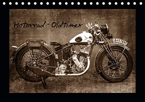 Motorrad Oldtimer (Tischkalender 2021 DIN A5 quer)