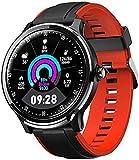 Reloj inteligente pulsera de moda IP68 resistente al agua, contador de calorías de contador de pasos, varios rastreadores de fitness deportivos, sueño y otras funciones de monitoreo - B