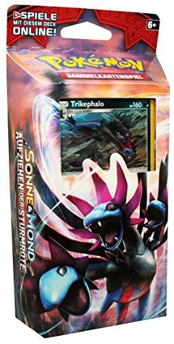 Pokémon Sonne und Mond, Serie 4, Aufziehen der Sturmröte Themendeck Dunkelschlund