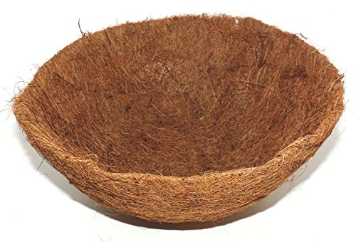 LB H&F Pflanzeinsatz für Hängeampel Hängekorb (Kokoseinlage 25 Ø)
