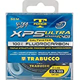 Trabucco Hilos de Pesca XPS Ultra Strong Saltwater T-Force 50 m 0.145 mm Fluorocarbono Spinning Surfcasting Boloñesa