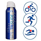 TRISLIDE Anti-Chafe Continuous Spray Skin Lubricant Body Friction Protection