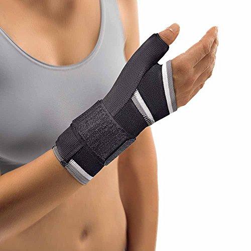 Bort Daumen Hand Bandage komprimierend Handgelenk Bandage Stütze Stabiliserung, schwarz, L