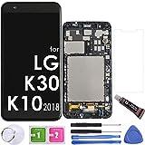 LCD Screen Replacement Touch Display Digitizer Assembly (Black) for LG k30 X410 / K10 2018 K10a K10+ / K11 Prime 2018 / Phoenix Plus X410AS / Premier Pro L413DL / X410CS Harmony 2 / K30 Xfinity Mobile