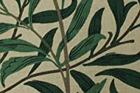 ウィリアムモリス おしゃれな 手芸 布 生地 kiji-willowboughs-1(IO) 品番:PR7614/2 【 約137cm幅×100cm 】 輸入 ファブリック 海外 import クラフト 手芸布 手芸生地 北欧調 アンテーク調 William Morris 植物柄 リーフ green 緑 グリーン コットン 綿 ウイリアムモリス