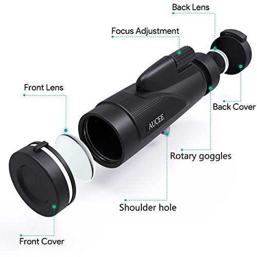 単眼鏡望遠鏡高倍率12×5012倍50口径広角単眼望遠鏡花火大会運動会登山旅行用固定用三脚付日本語取扱説明書付