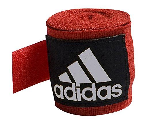 adidas Boxing Crepe Bandage New AIBA Rules, rot, 5.7 x 4.5 m