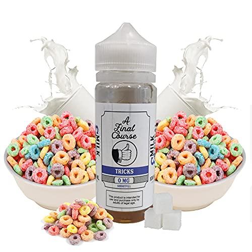 Final Course - Tricks - TearDrip Juice E-Liquid | 100ML | Sin Nicotina: 0MG | 70VG/30PG | E-Liquido para Cigarrillos Electronicos | Vaper | E Cigarette | E Shisha