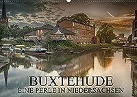 Buxtehude - Eine Perle in Niedersachsen (Wandkalender 2022 DIN A2 quer): Die Reise durch ein zauberhaftes Staedtchen. (Monatskalender, 14 Seiten )