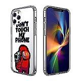 iPhone 12 Case iPhone 12 Pro Case, Unique Design, Drop Resistant and Shock Resistant TPU Clear Case (Among-us)