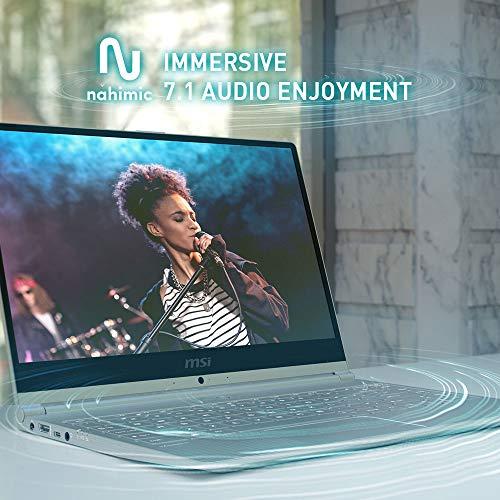 MSI Modern 14 A10RB-651IN Intel Core i7-10510U 10th Gen 14-inch Laptop(8GB/512GB NVMe SSD/Windows 10 Home/MX250, 2GB Graphics/Grey/1.19Kg )9S7-14B351-651