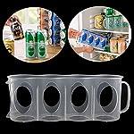 Beer-Soda-Can-Storage-Holder-Kitchen-Fridge-Organization-Rack-Plastic-Space