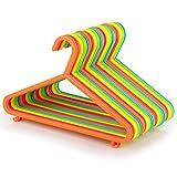 Hangerworld - Perchas para Niños (29 cm) Pantalones, Plástico. Colores Mixtos...
