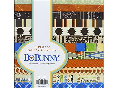 Bo Bunny Paper Game On 6x6 Page Pads -  BBU21217944