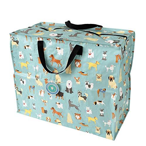 LS-LebenStil XXL Jumbo Bag Dog´s Hunde Recycled Allzwecktasche Einkaufstasche