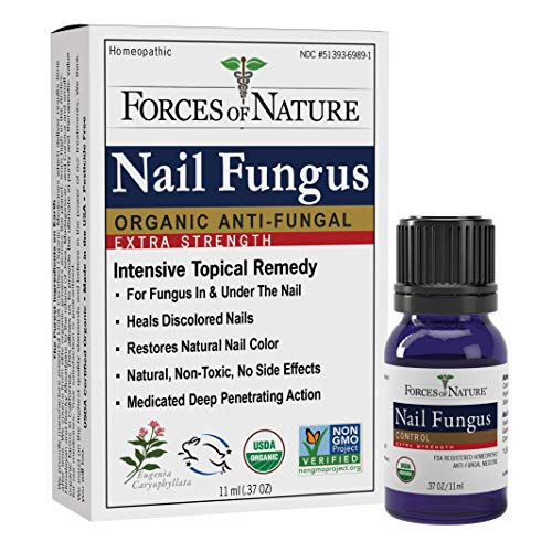 Forces Of Nature Nail Fungus Extra Strength Formula, 11 mL
