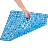 XIYUNTE Square Alfombrillas de baño 53×53cm Antideslizante Alfombrillas para Ducha de Goma, Resistente al Moho Infantiles Alfombrillas para bañera con Ventosa, Anti Bacterialm, Lavable en la Lavadora