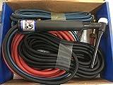 CK18 Water Cooled TIG Torch Kit, 350A, 25', 3-Pc, Super-Flex, CK18-25SF