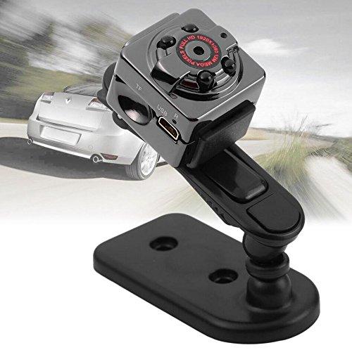 Mini cámara ocultada deporte, SQ8 Mini DV 1080P Full HD H.264 12.0MP CMOS Dash cámara de detección de movimiento cámara de vídeo