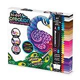 Boti 35908 Hi Def Creation System, Malset mit 60 hochpigmentierten Kreiden in leuchtenden und kräftigen Farben, Blender und 2 Malvorlagen, für Künstler und Kinder ab 8 Jahren geeignet, bunt
