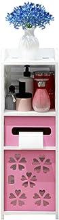 Jiahuijuan Support de Fleurs Simple, Stockage de PVC et Support de Finition pour la Maison, Vert, Rose, Blanc, 20 * 18 * 5...