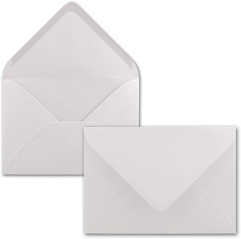 400x Briefumschläge B6 17,5 x 12,5 12,5 12,5 cm - Naturweiss - Nassklebung mit spitzer Klappe - 120 g m² - Für Hochzeit, Gruß-Karten, Einladungen B0783PY52G  | Produktqualität  1d929b