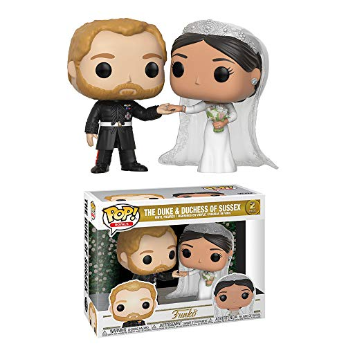 Funko POP! Royals: Boda del Príncipe Harry con Meghan Markle