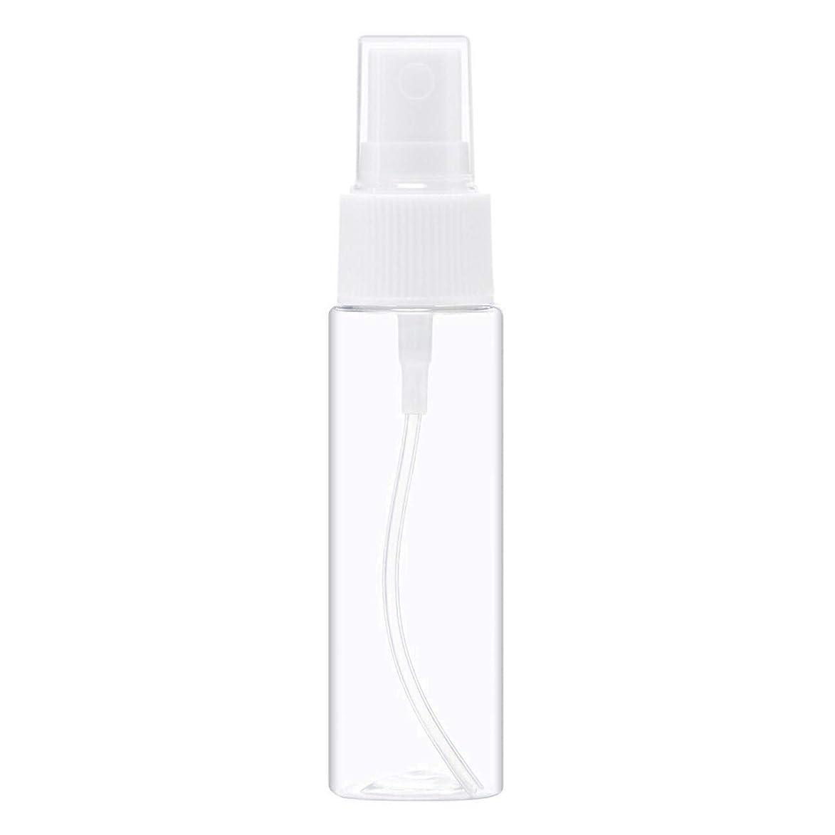花瓶直感継続中スプレーボトル 30ml 透明 空容器 100本 セット