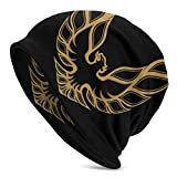 Trans Am Firebird Adult Men's Knit Hats,Cap,Half Balaclava Black