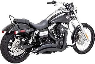 Vance & Hines 07-17 Harley FXDB3 Big Radius 2-Into-2 Exhaust (Black)