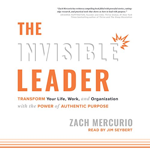 The Invisible Leader audiobook cover art