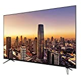 Smart TV Android 55'60' LED de Pantalla Plana con WiFi, Interfaz de TV por Cable, VGA, HDMI, USB, 4K UHD HDR TV de Pantalla Curva TV WiFi Smart Cast Screen TV Sincronización Teléfono móvil
