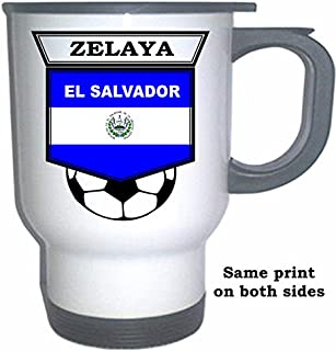 Rodolfo Zelaya (El Salvador) Soccer White Stainless Steel Mug