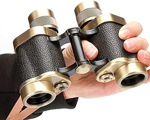 Pkfinrd Telescoop Pure Koper Verrekijker Laag Lichtbereik Volledige Metaal 8X30 High Power HD Reizen Vakantie Volwassen Telescoop Doelstelling 30mm Multifunctioneel