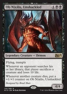 Magic The Gathering - Ob Nixilis, Unshackled (110/269) - Magic 2015